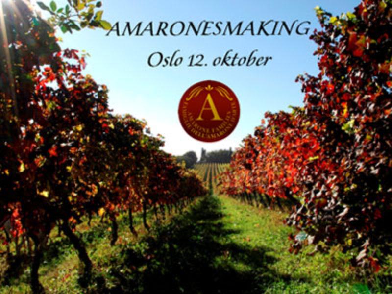 Stor smaking med Amarone Families i Oslo 12. oktober
