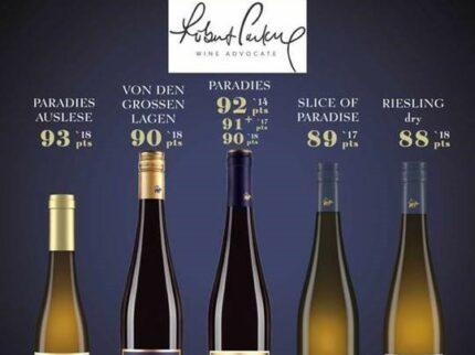 Robert Parker har anmeldt Korrells viner