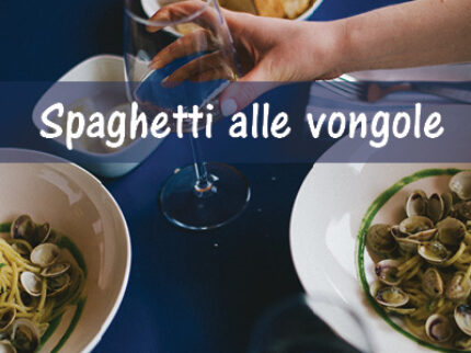Oppskrift: Spaghetti alle vongole