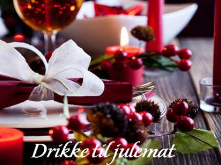 Drikke til julematen